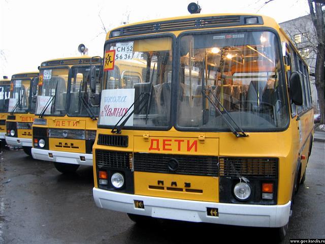 В двух школах Вологодского района детей перевозили на автобусах, не соответствующих требованиям госстандарта