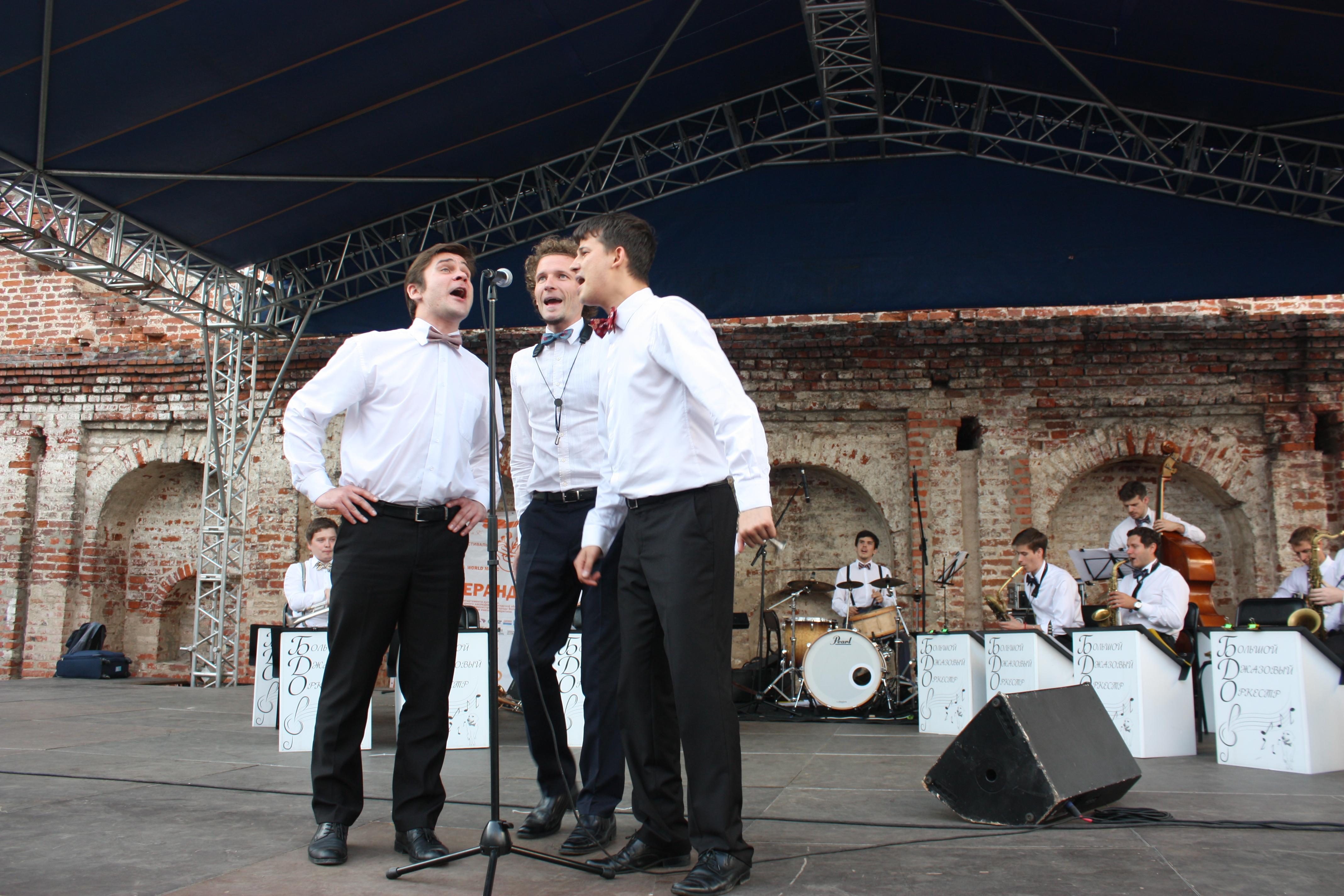 Вологодский кремль окунулся в джаз