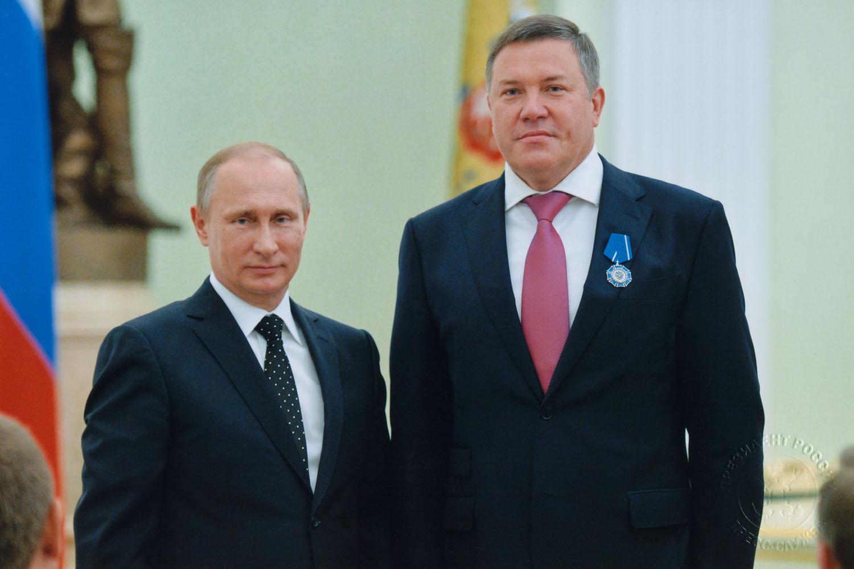 Путин наградил вологодского губернатора орденом Почета