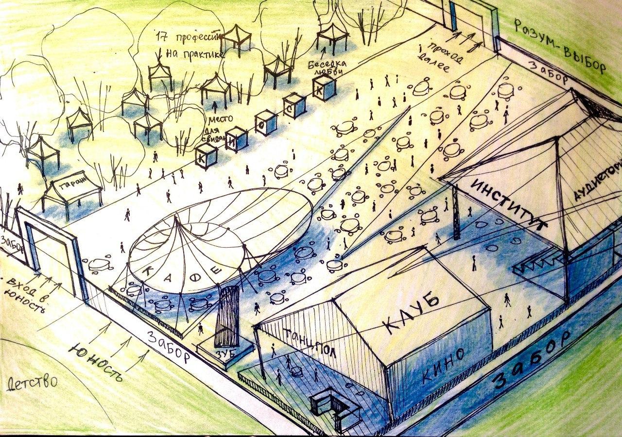 В центре Вологды создадут мини-город, за жизнью обитателей которого будут наблюдать психологи со всей России