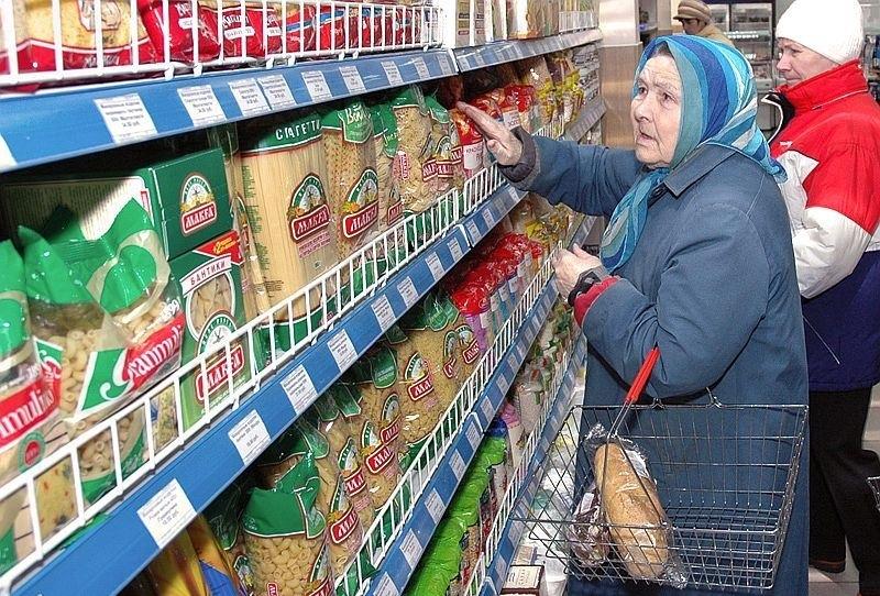 Продукты в России в 2015 году в среднем подорожали на 20%