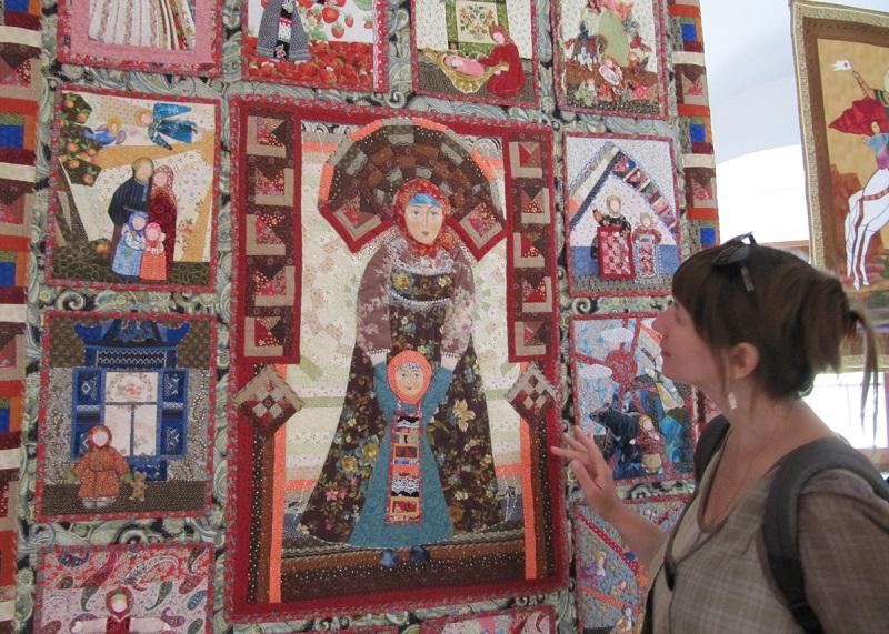 Мастера лоскутного шитья из Вологды посетили фестиваль в Суздале