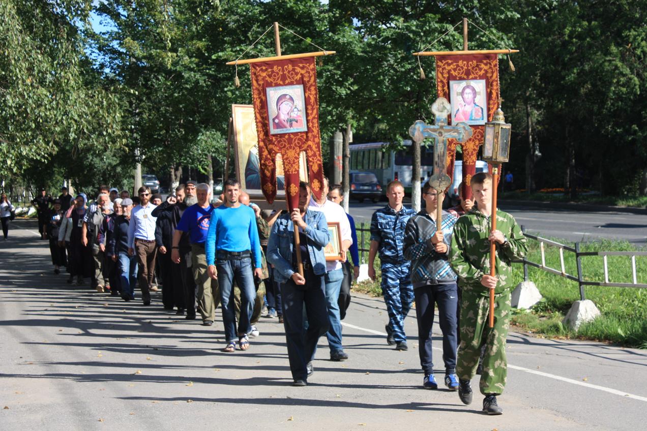 Владимирский крестный ход добрался до Вологды
