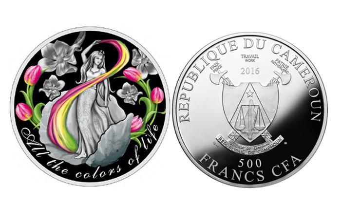 В Северный банк поступили монеты, посвященные 8 марта
