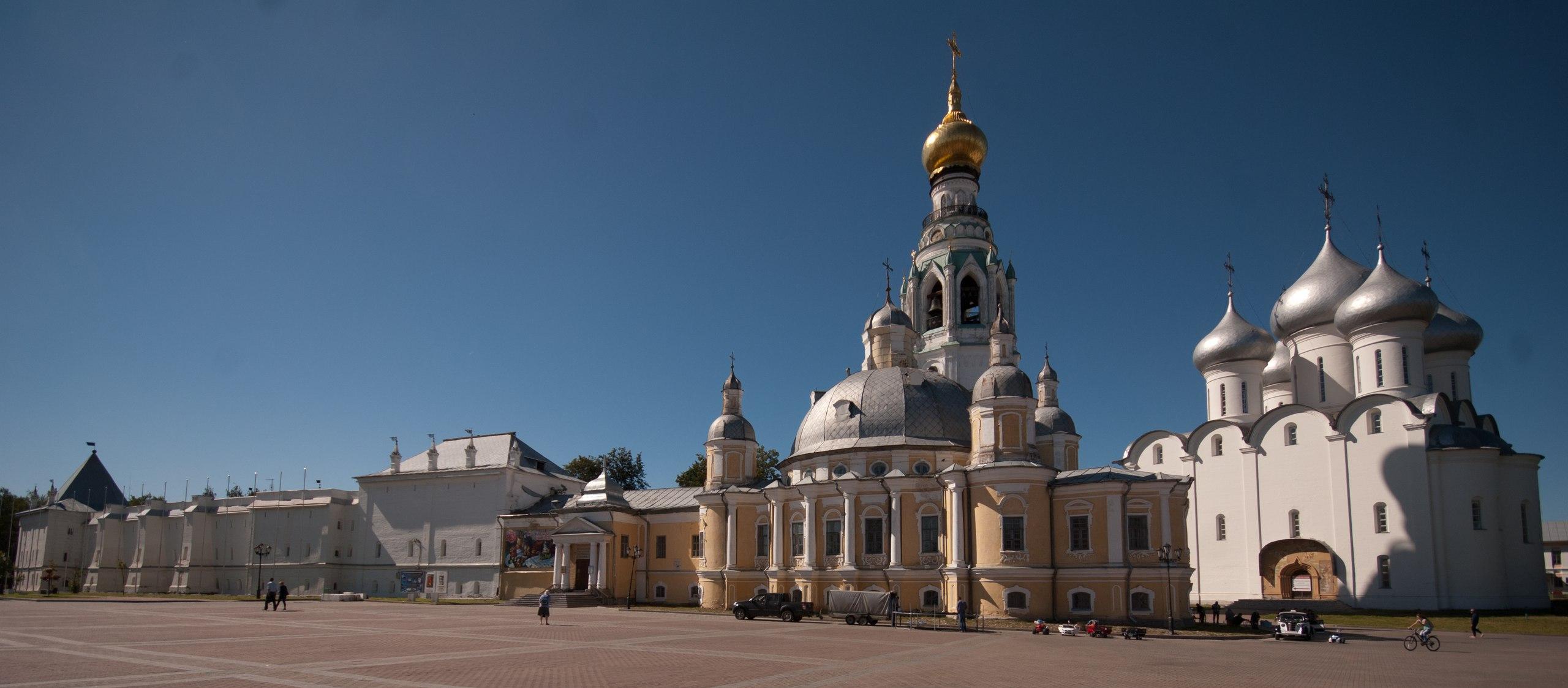 Вологодский кремль начали реставрировать