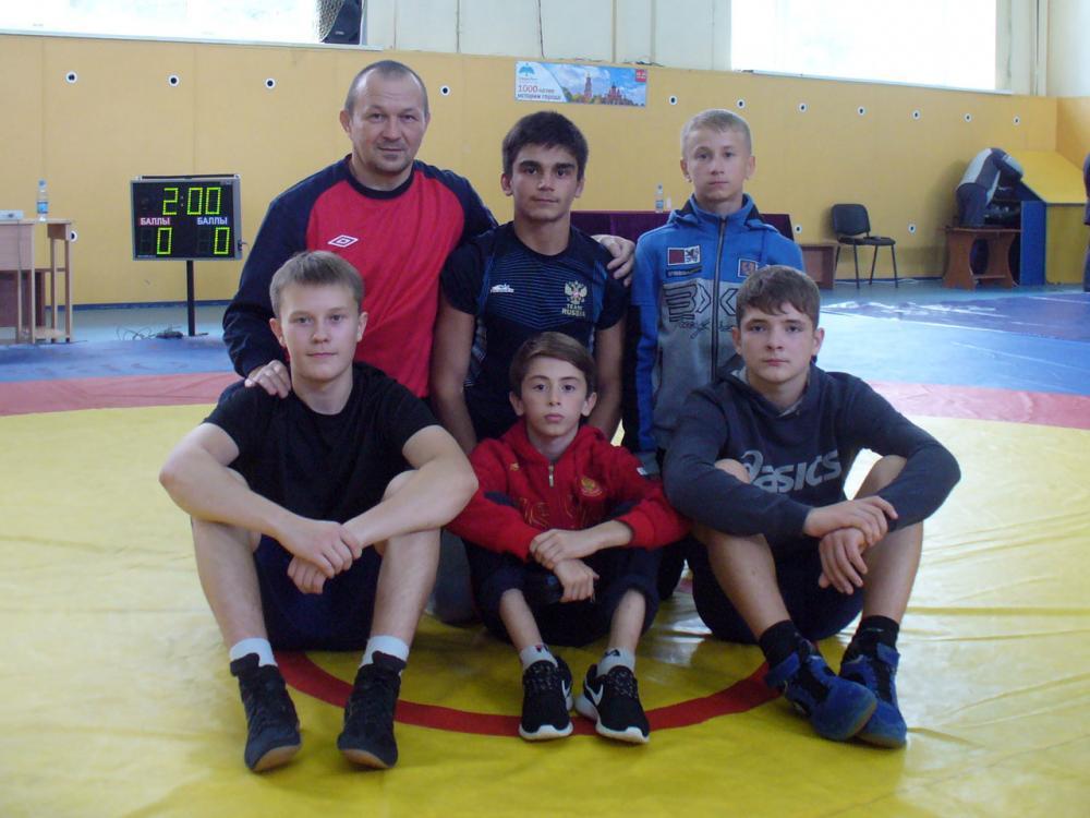 Вологжане стали призерами соревнований по вольной борьбе