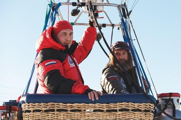 Фёдор Конюхов установил мировой рекорд на воздушном шаре