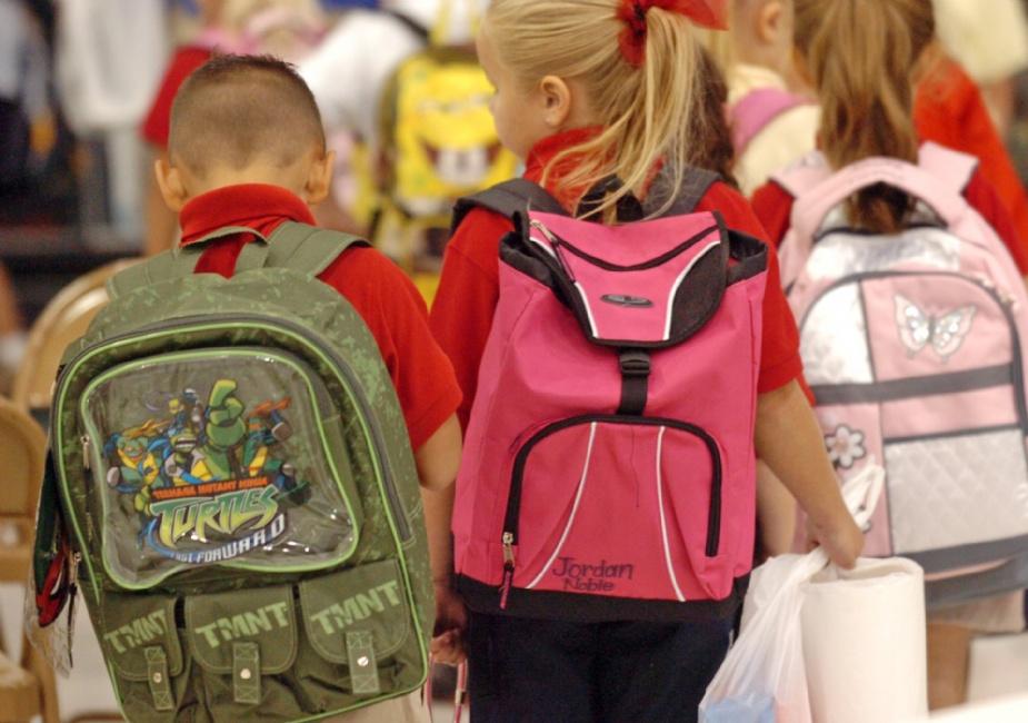 В школах Череповца решили взвешивать портфели учеников