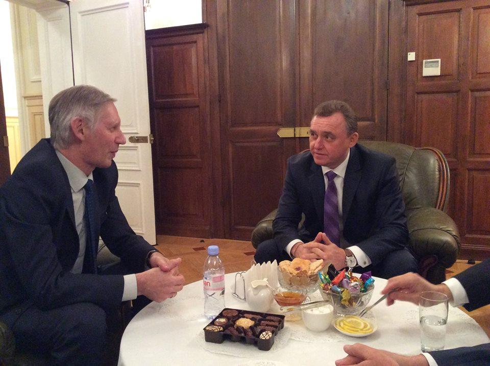 Вологда будет теснее сотрудничать со Страсбургом