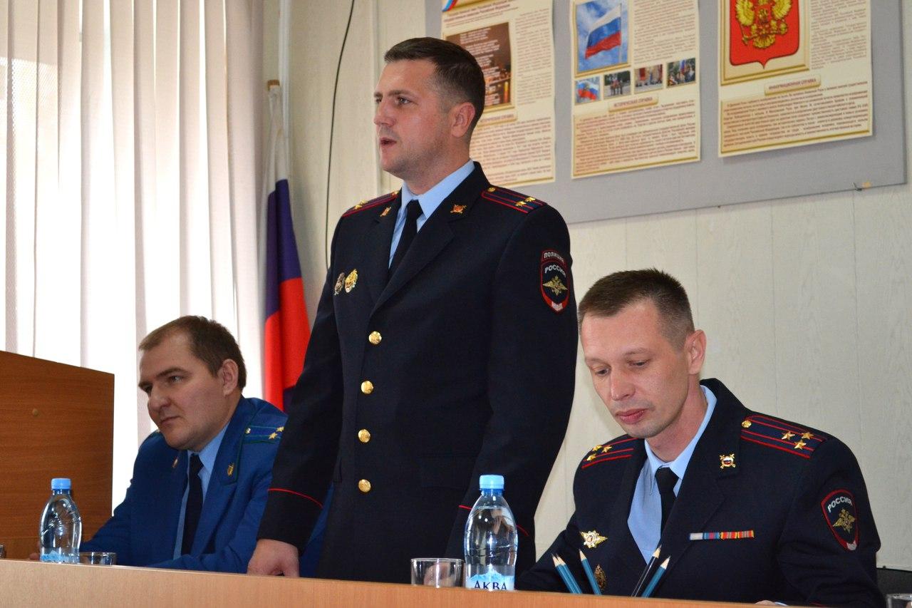 В Устюженском районе назначен новый начальник полиции