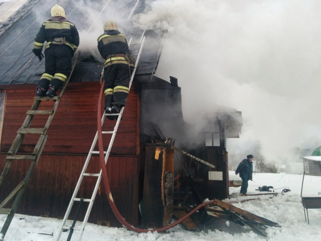 Дачник погиб на пожаре в Череповецком районе