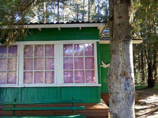 В Грязовецком районе сгорел один из корпусов детского лагеря «Единство»
