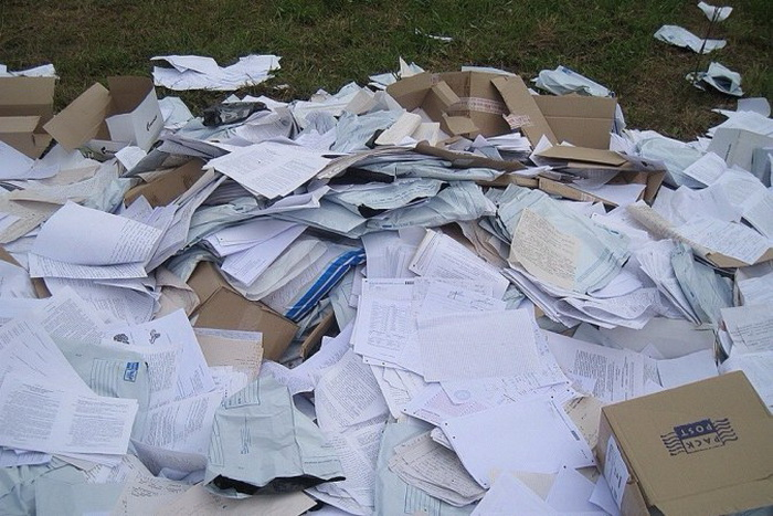 Череповецкий почтальон, выбросивший письма в канаву, оказался призывником-альтернативщиком
