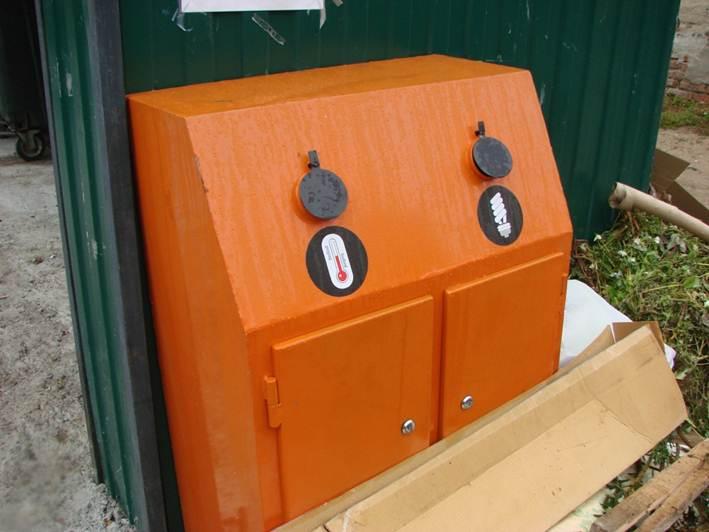 В Вологодском районе появились контейнеры для сбора ртутных ламп