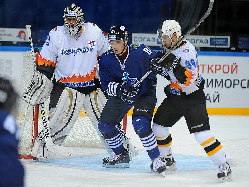 """Хоккеисты """"Северстали"""" обыграли соперников из Владивостока со счетом 4:1"""