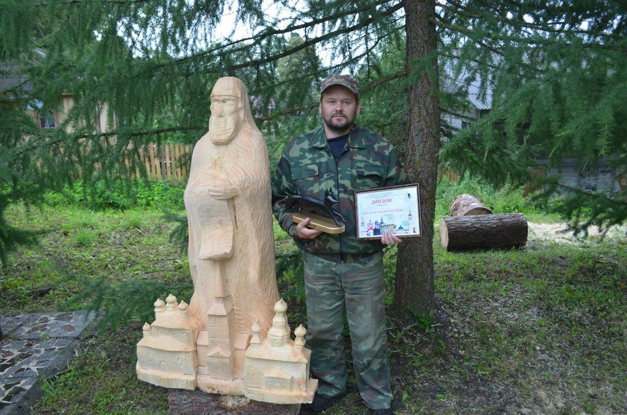 В Тотьме выбрали лучшего мастера деревянной скульптуры