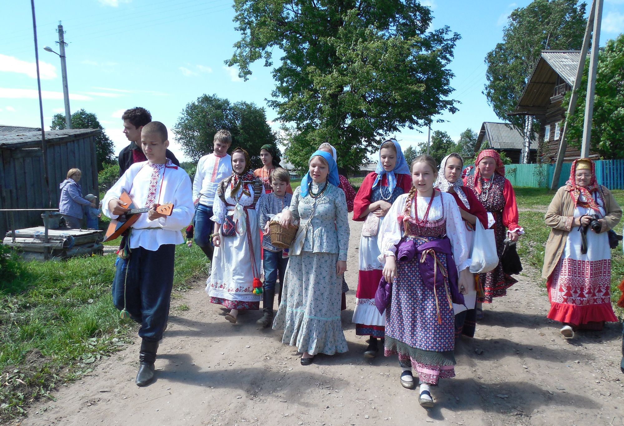 Интерактивная экскурсия по деревне мастеров пройдет в Кирилловском районе
