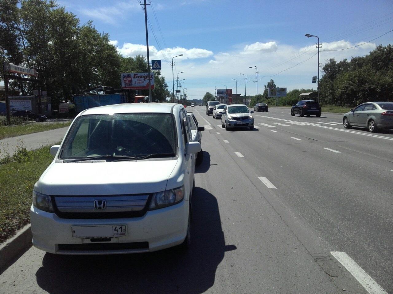 В Череповце водитель иномарки сбил на «зебре» 19-летнюю девушку