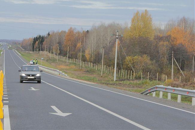 В Вологодской области отремонтировали 40 км федеральной трассы Вологда – Медвежьегорск