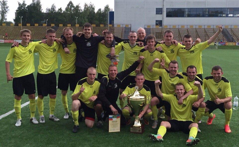 ФК «Череповец» впервые в своей истории стал победителем Кубка межрегиональной федерации «Золотое кольцо»