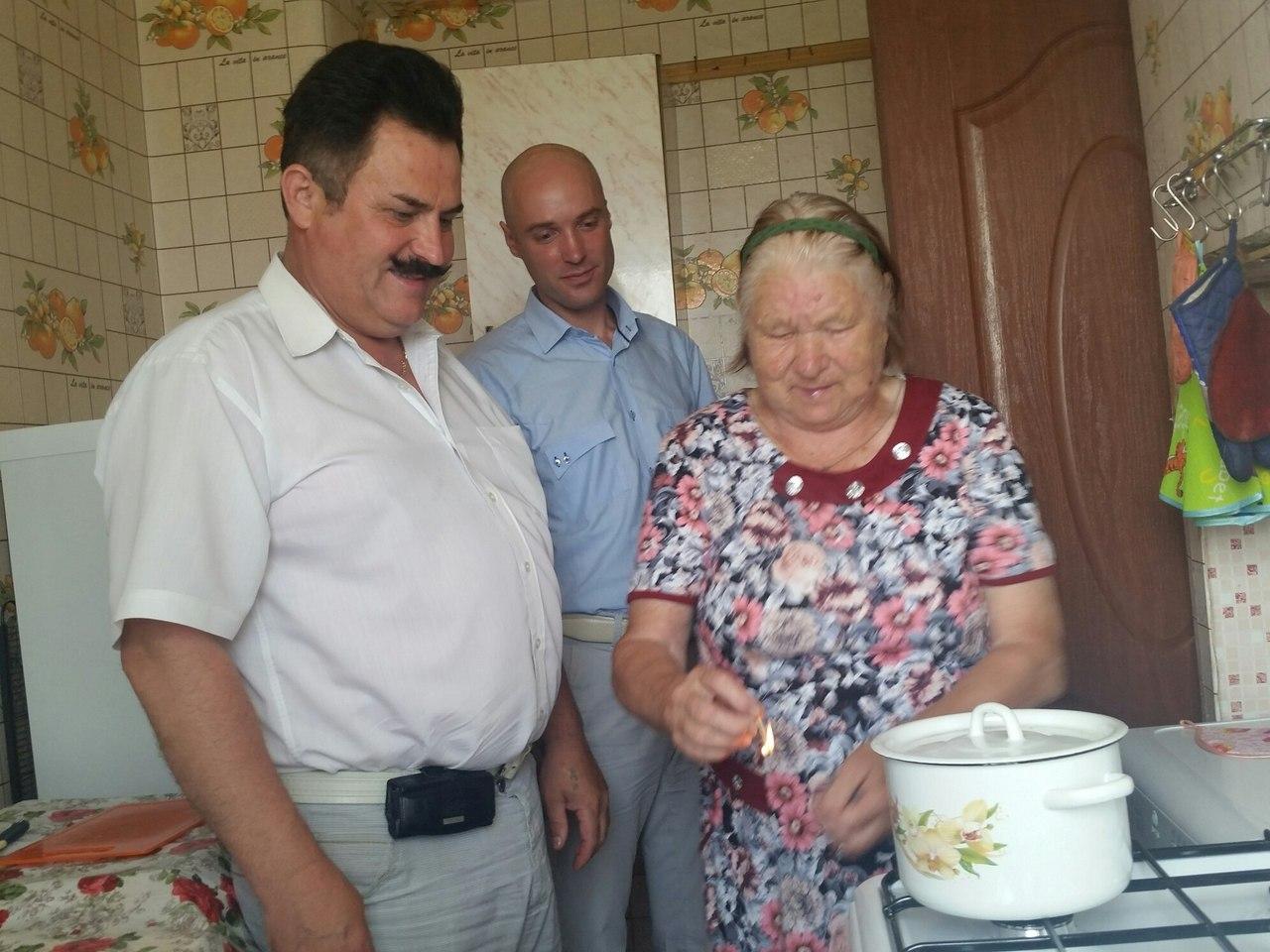 В деревне Морино Вологодского района запустили в эксплуатацию газопровод