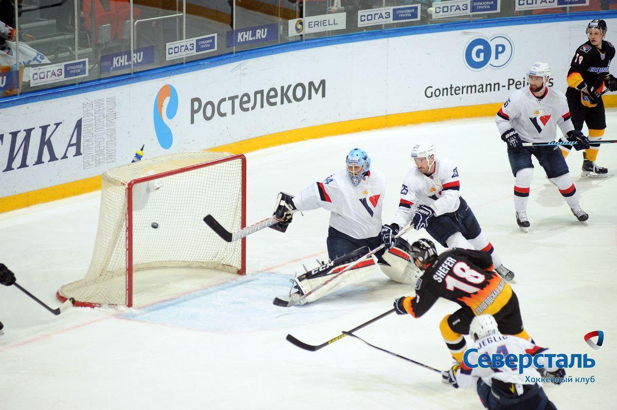 """Хоккеисты """"Северстали"""" снова проиграли соперникам из """"Слована"""""""