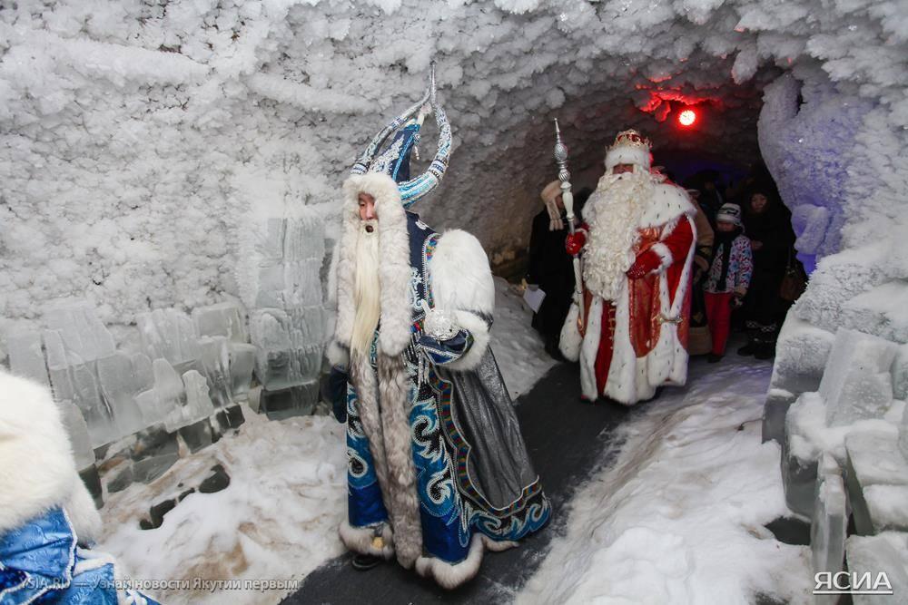Великоустюгский Дед Мороз посетил Царство вечной мерзлоты