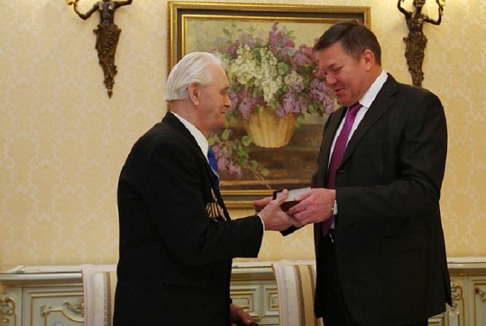 Вологжанину вручили медаль «За взятие Берлина»