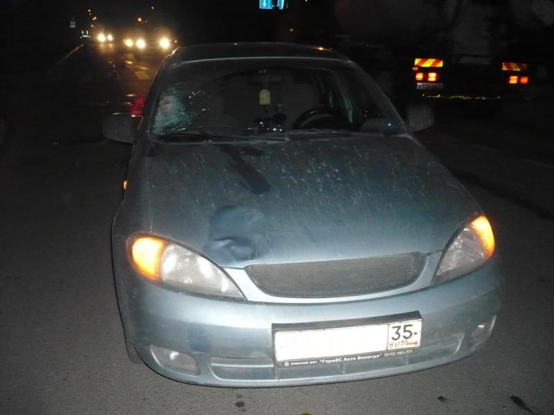 В Вологде водитель «Шевроле» сбил на «зебре» 17-летнего подростка