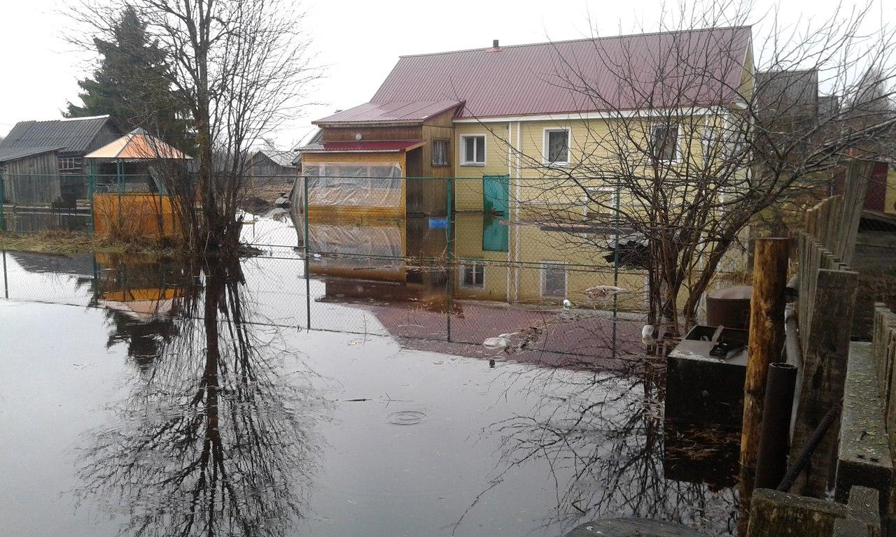 В Чагодощенском районе в зоне подтопления из-за половодья оказались четыре населенных пункта