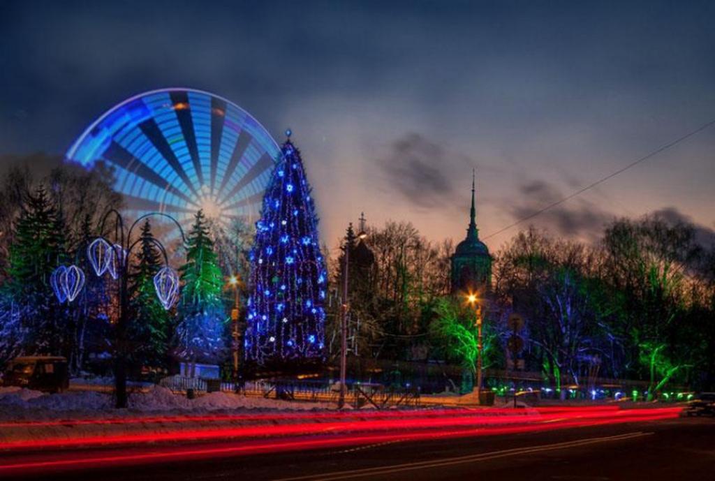 Жители Вологды могут выбрать место размещения колеса обозрения только в центре города