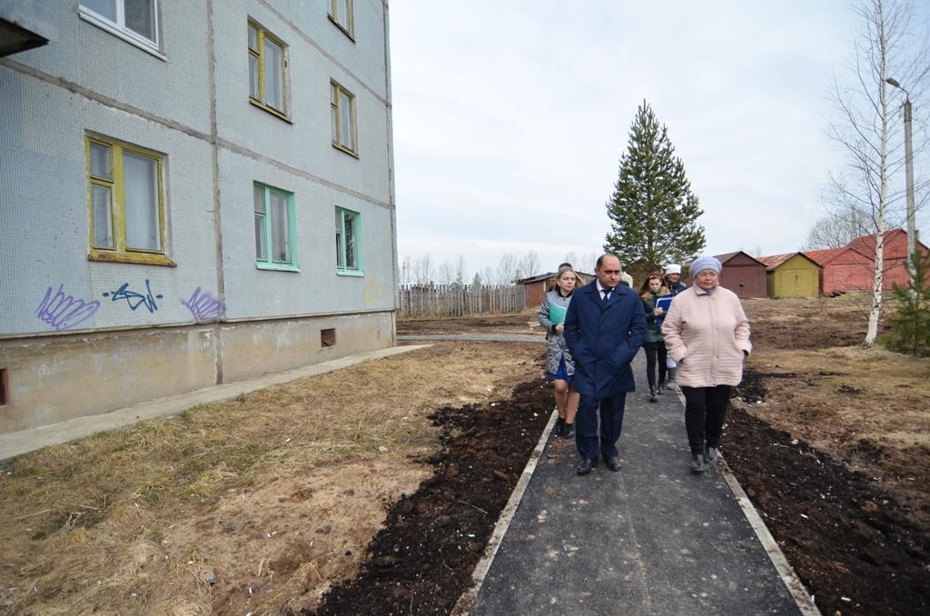 В Вологде проверят дворы, ранее отремонтированные в рамках проекта «Городская среда»