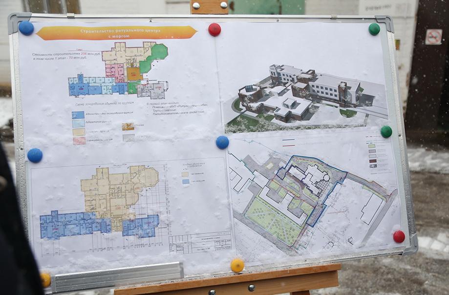 Градостроительный центр Вологды готовит документы для размещения госзаказа на строительство морга