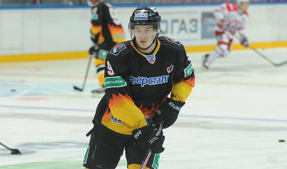 Череповецкий хоккеист вызван в Олимпийскую Сборную России