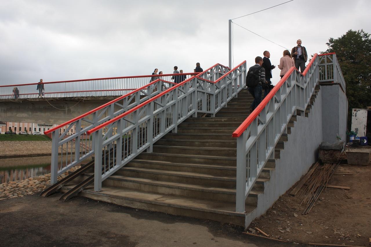 Красный мост в Вологде не приняли после ремонта из-за замечаний