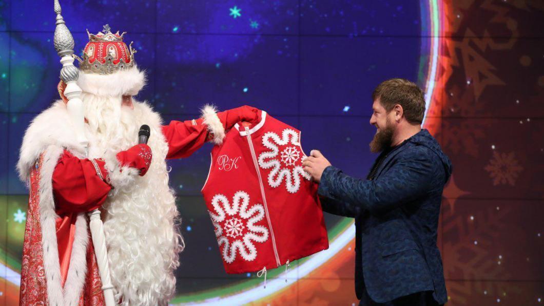 Дед Мороз назначил Рамзана Кадырова своим помощником по добрым делам