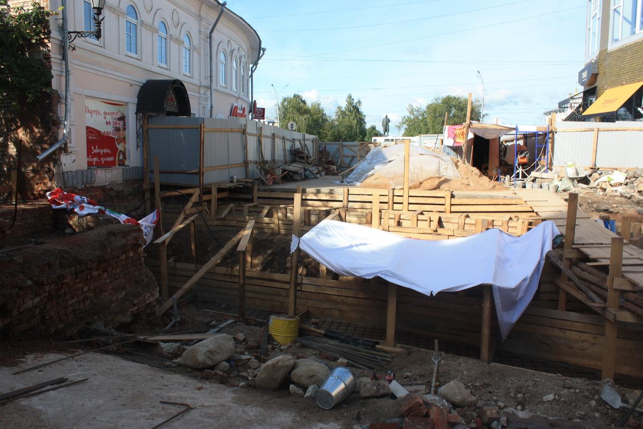 Каменный мост в Вологде планируют открыть для пешеходов в конце октября