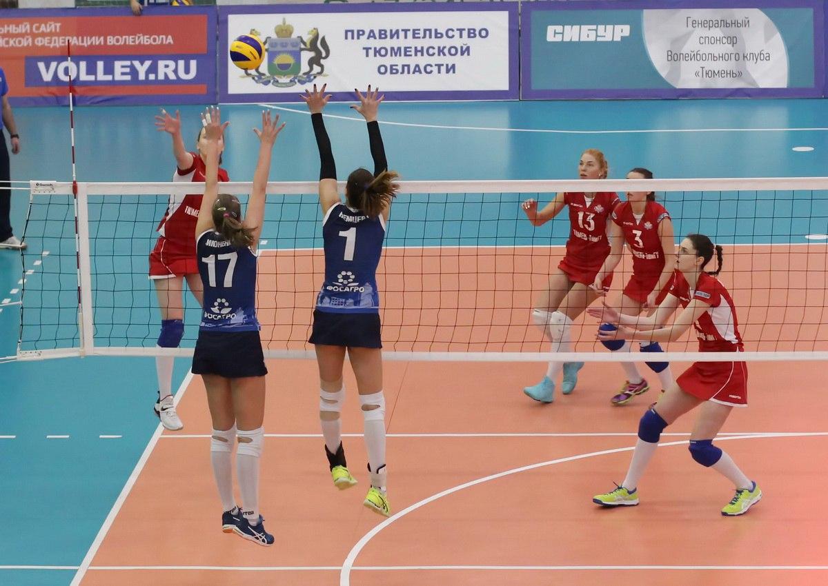 Волейболистки череповецкой «Северянки» выиграли все матчи сезона