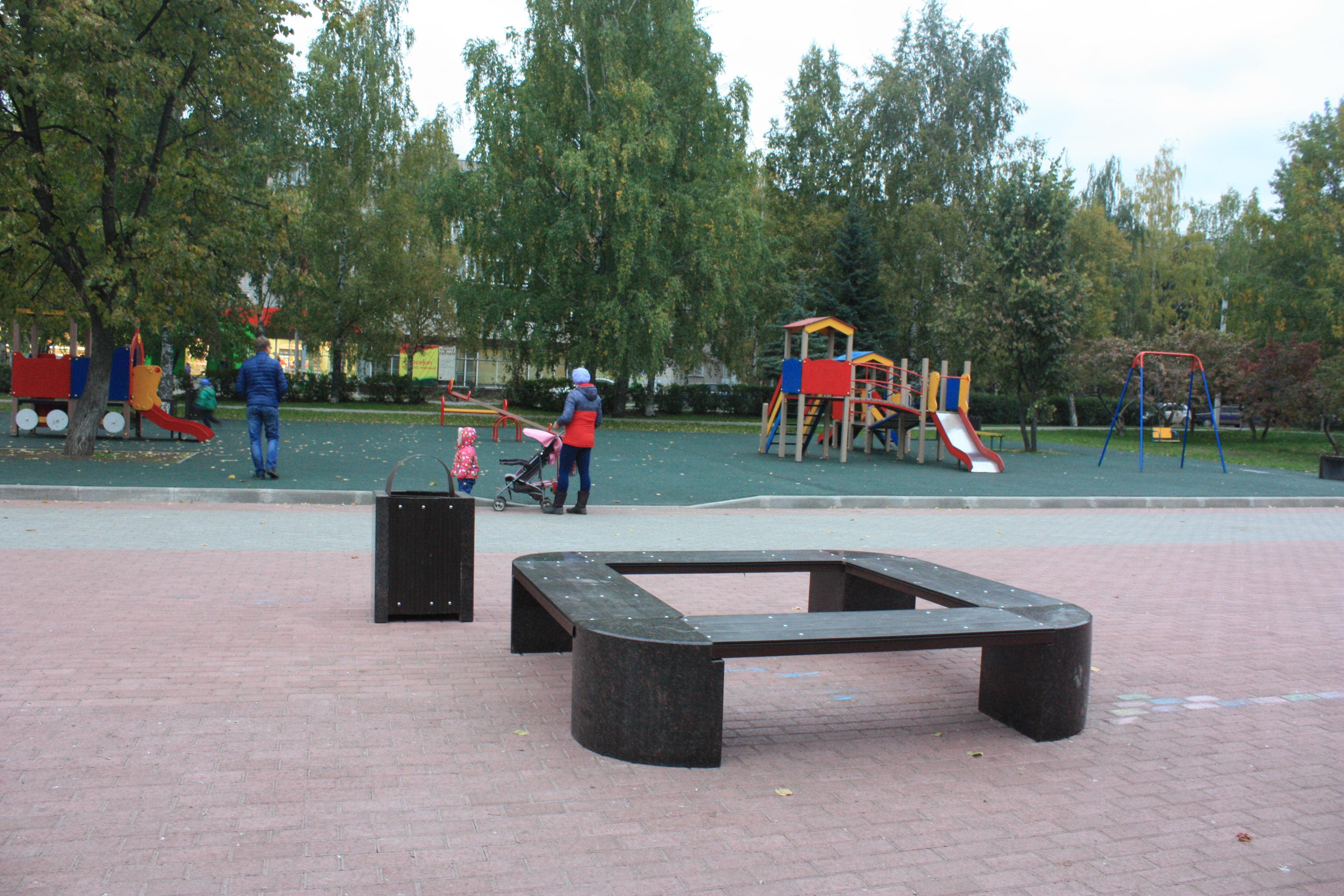 В Вологде завершились работы по благоустройству площади Чайковского