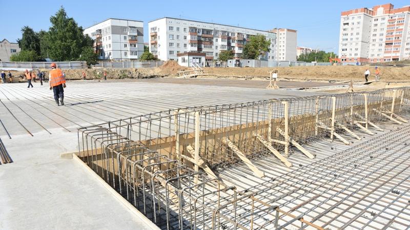 Работы по строительству школы на улице Северной в Вологде будут проводиться круглосуточно