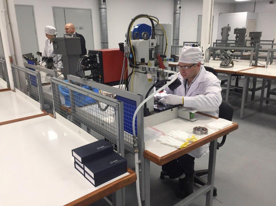 В Вологде открылся новый завод по производству подшипников