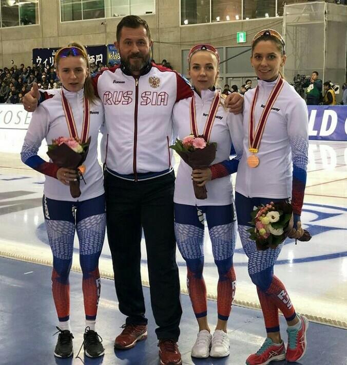 Вологодские конькобежцы завоевали три медали на соревнованиях первого этапа Кубка мира
