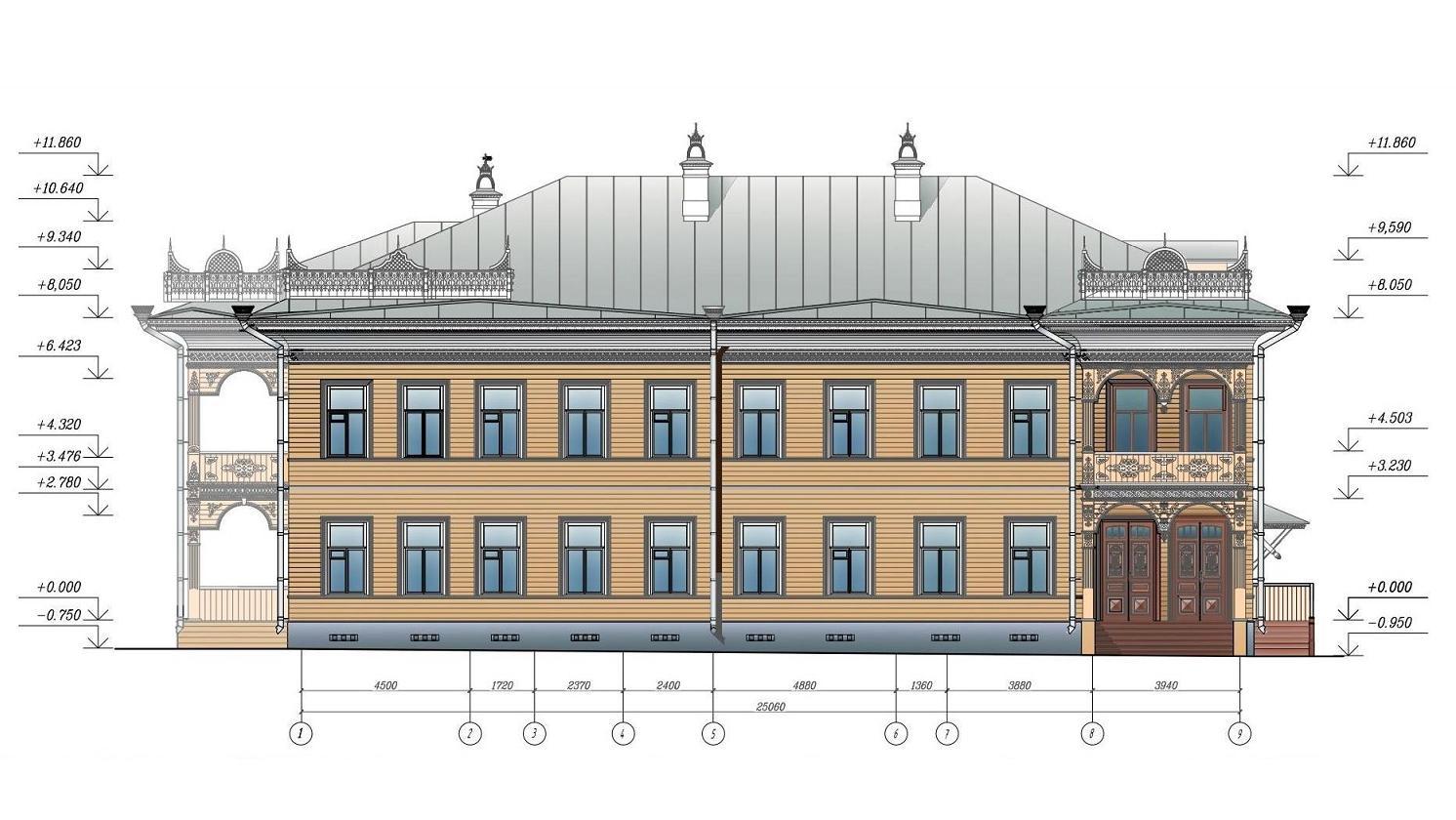 В Вологде инвестор сорвал ранее оговоренные сроки реставрации дома купца Смирнова