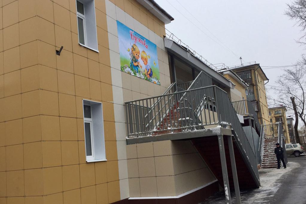 В Череповце открыли детский сад на сто мест