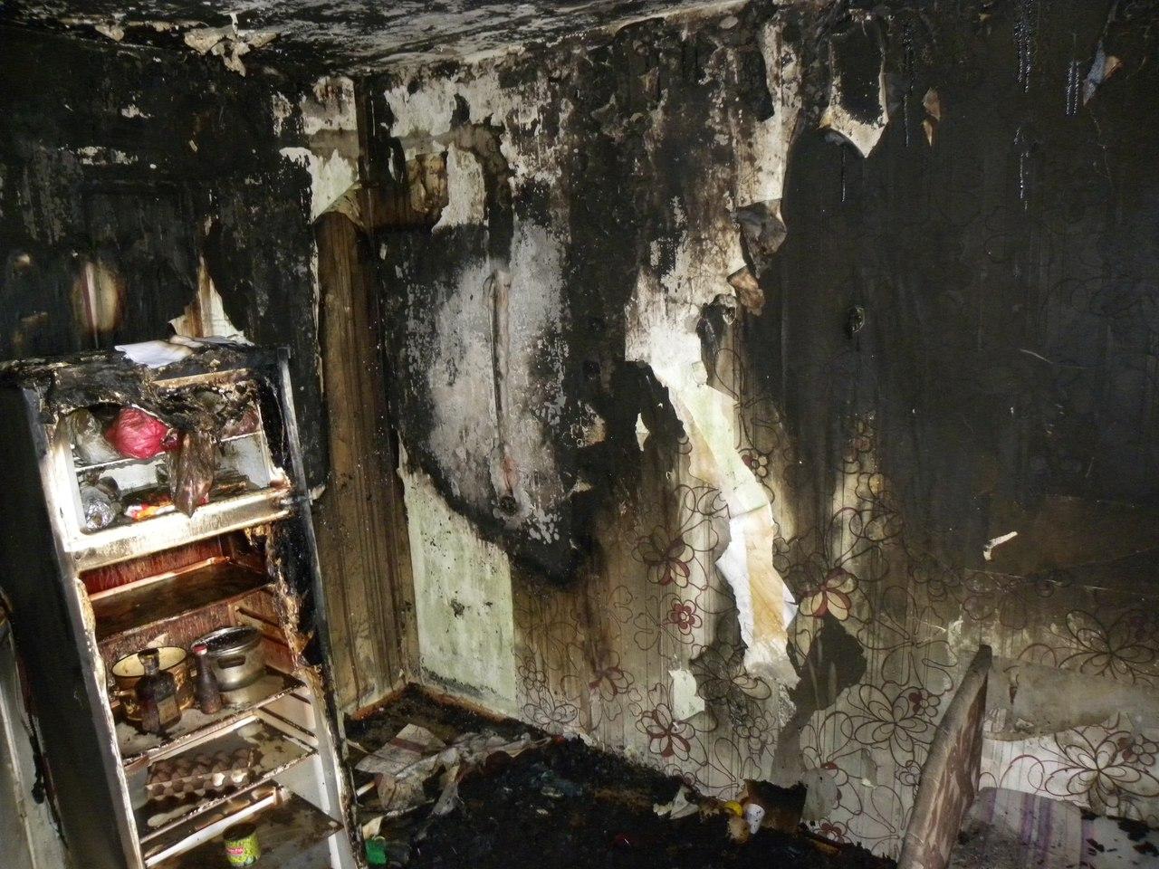 В Вологде на пожаре спасли троих детей