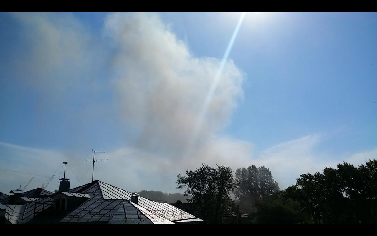 В Вологде произошел пожар в здании хлебокомбината на улице Самойло