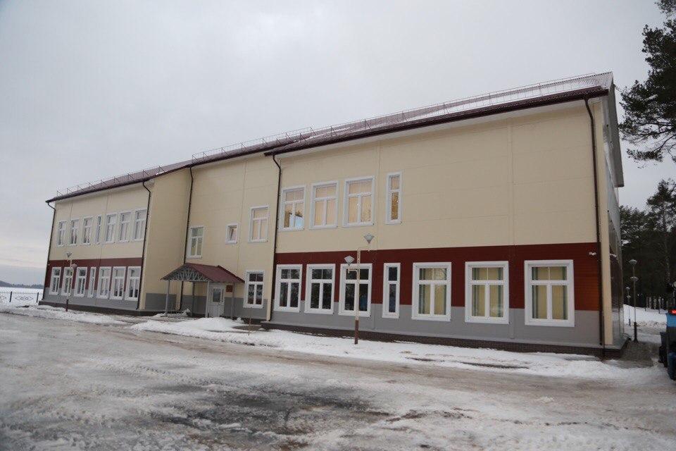 Новая школа в Вытегорском районе примет учеников 1 сентября 2018 года