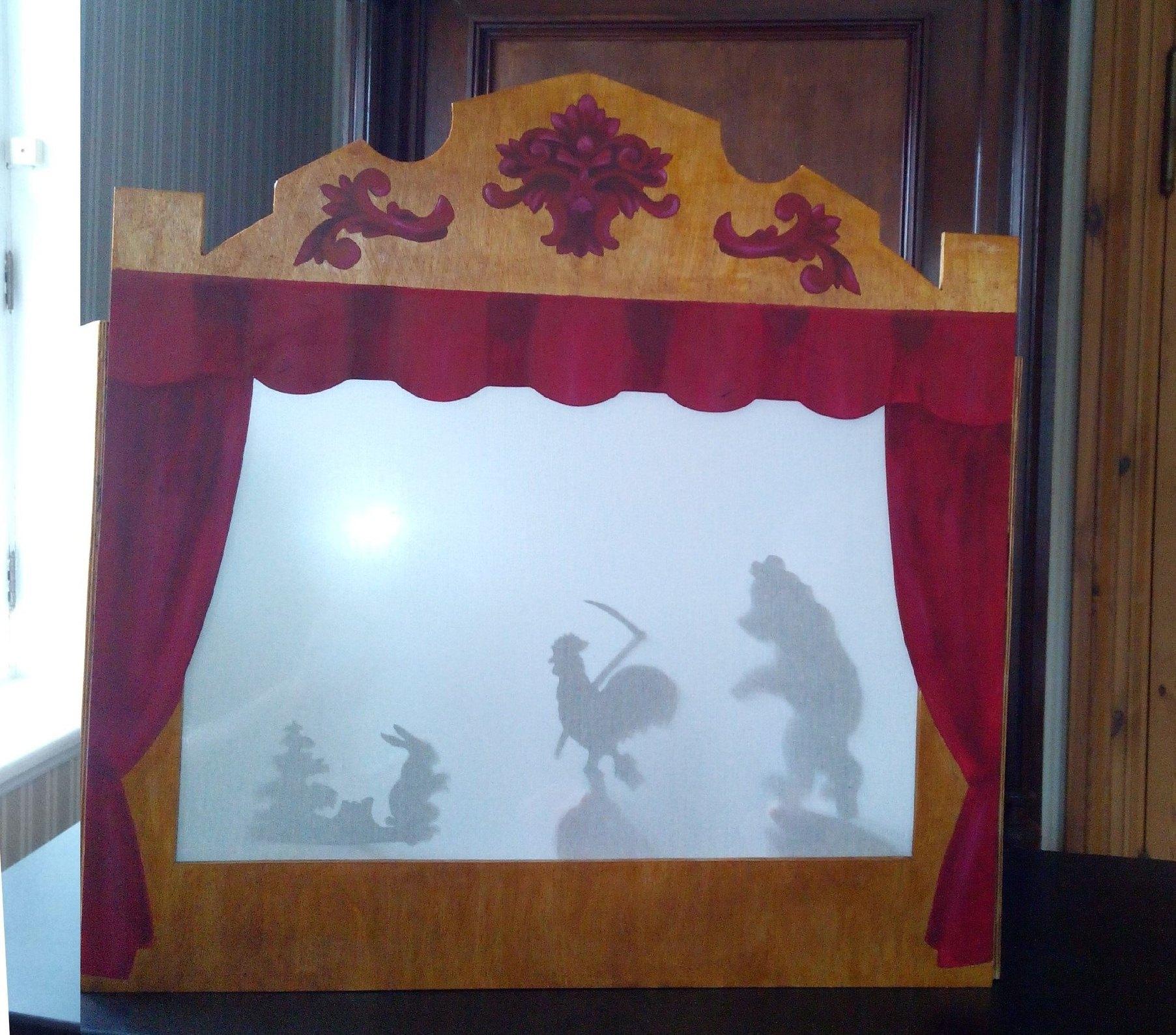 В доме-музее Верещагиных в Череповце появился свой театр теней