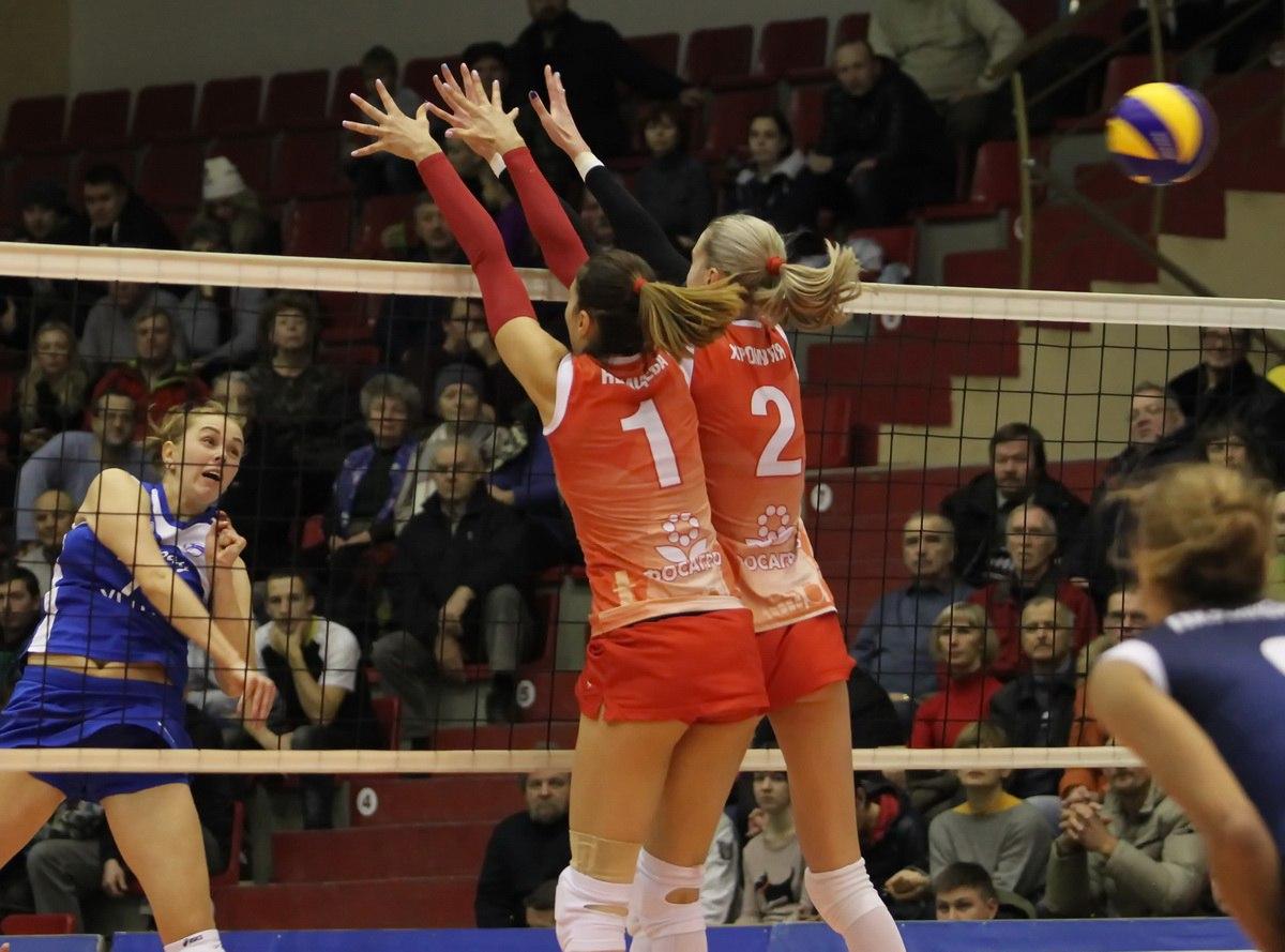 Череповецкая волейбольная «Северянка» два раза обыграла соперниц изУфы