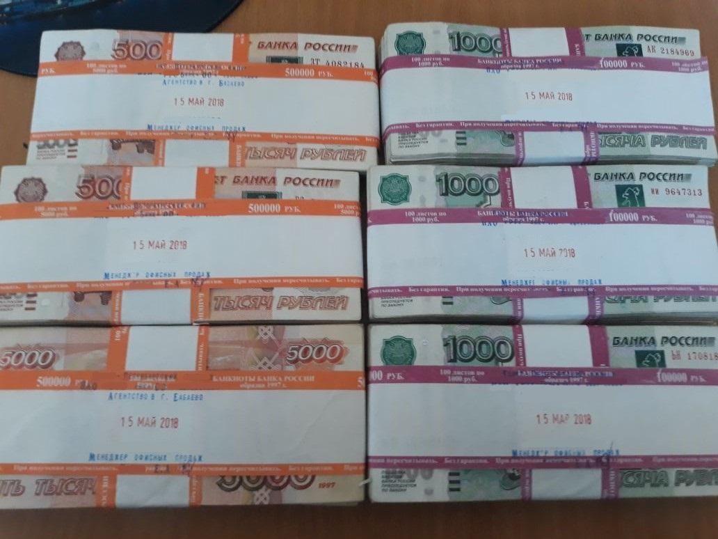 В Бабаево сотрудница страховой компании украла из сейфа 1,8 млн рублей